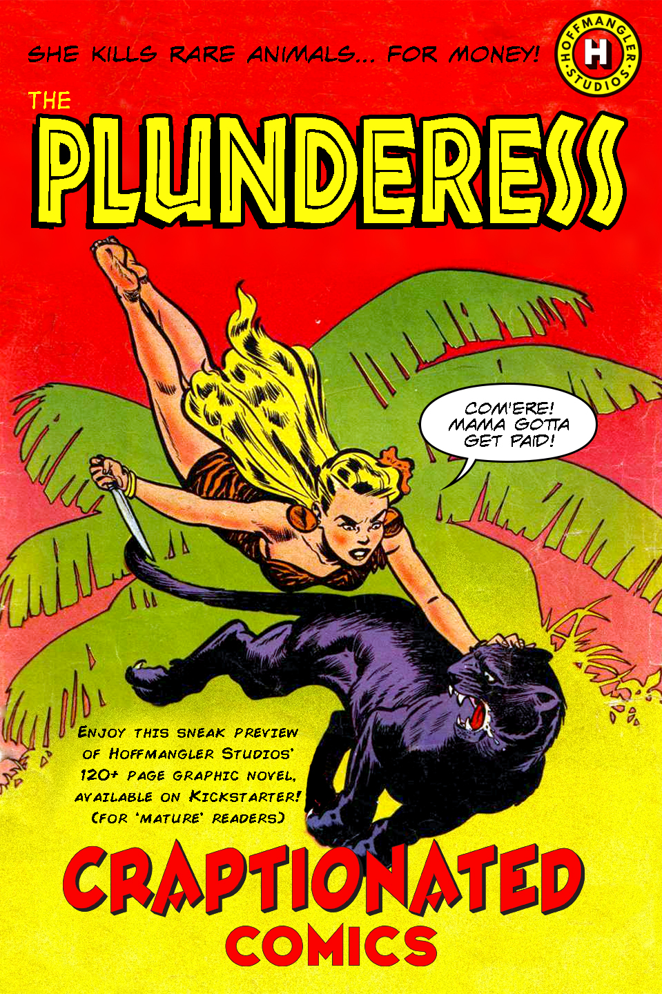The Plunderess – Cover