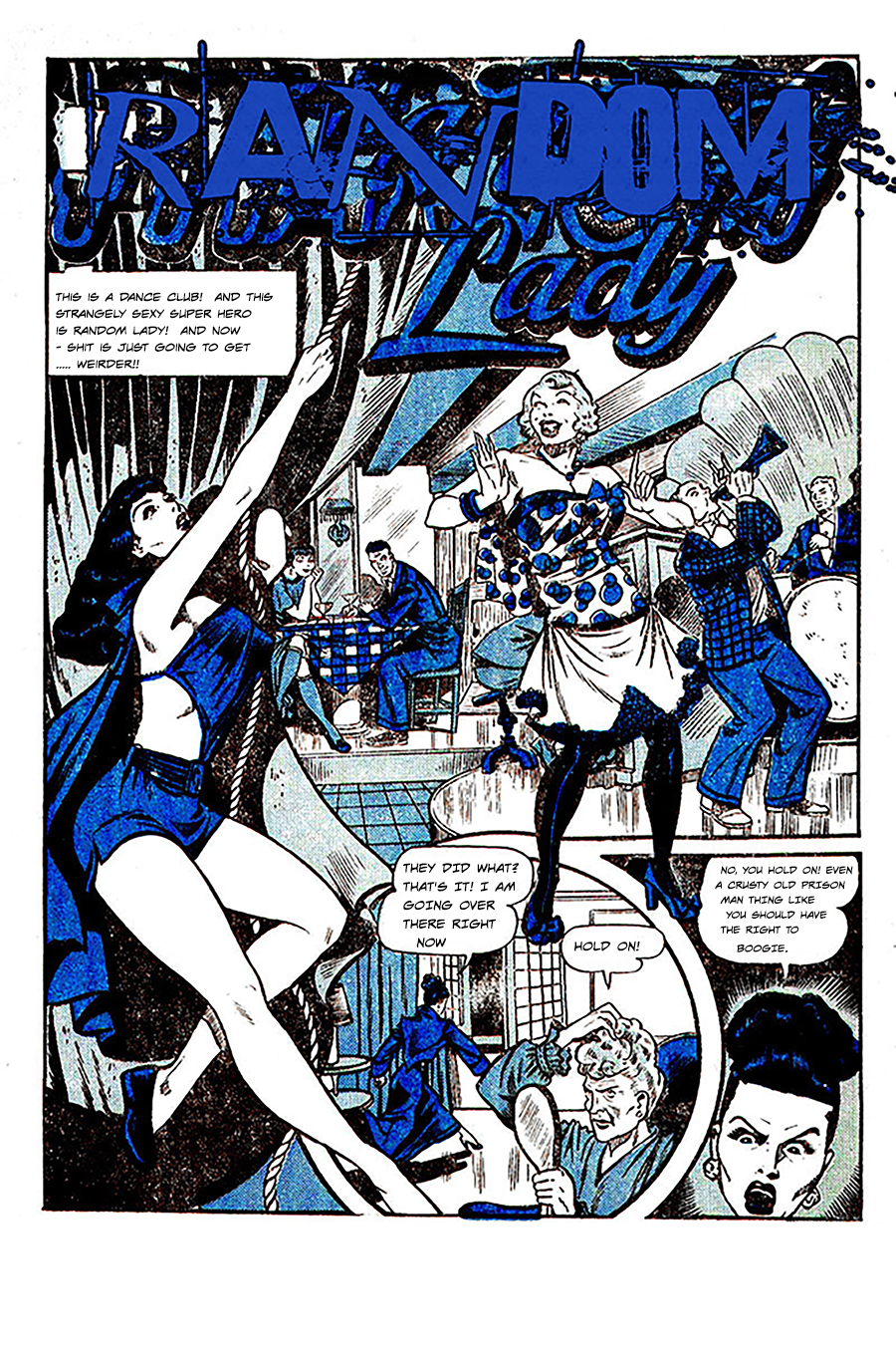 Random Lady – Prison-man-lady Page 1