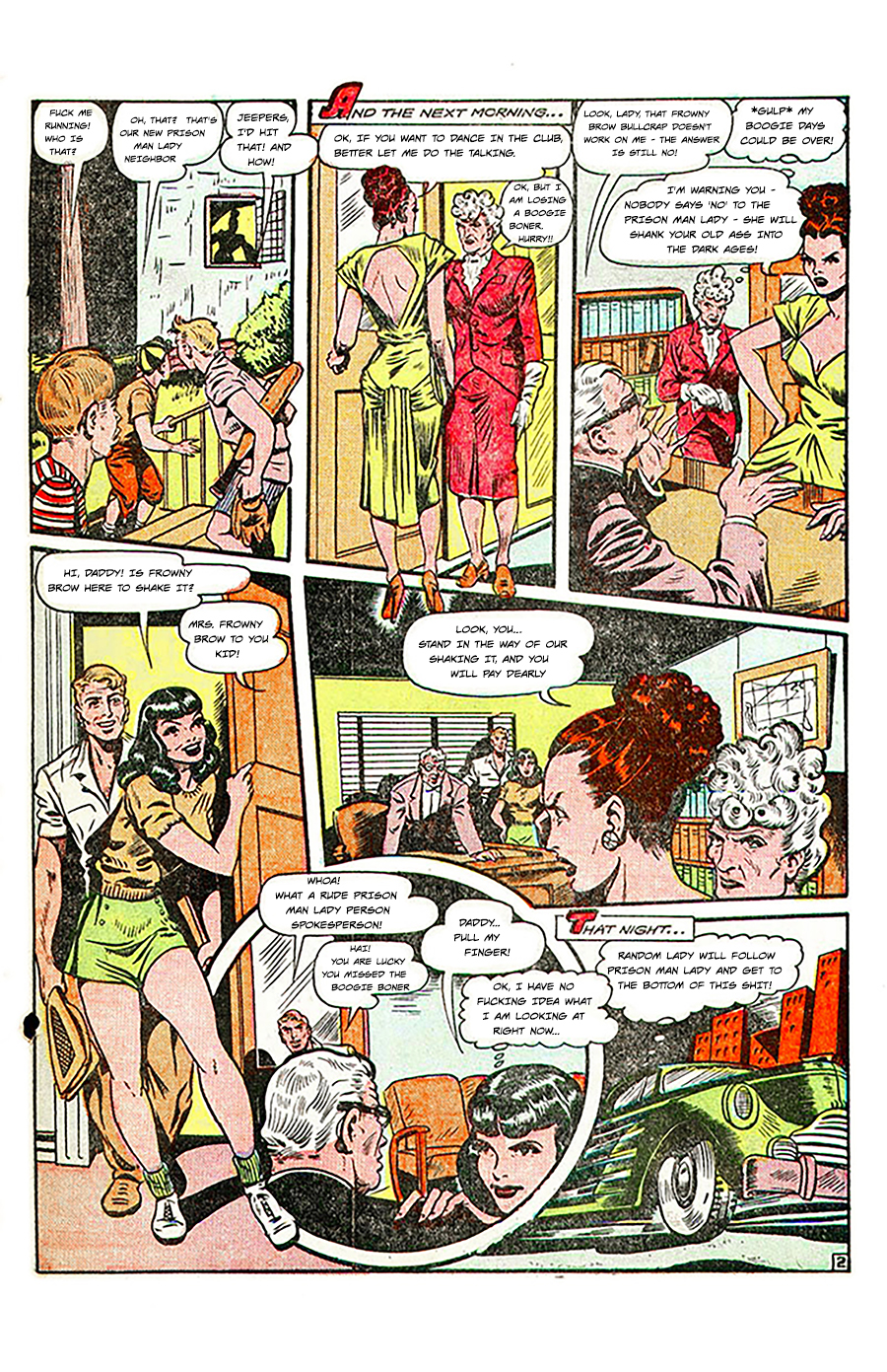 Random Lady – Prison-man-lady Page 2